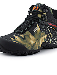 Men's Shoes Fabric Fall Winter Comfort Athletic Shoes Hiking Shoes Flower For Athletic Casual Khaki Gray