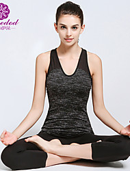cheap -SMOEDOD® Yoga Suits Yoga Pants/Yoga Leggings + Yoga Tank/Yoga Top Shaper Wear/Breathable/ Lightweight Stretchy Sports Wear Yoga/Pilates/Fitness Suits
