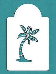Palm Tree Cake Stencil, Summer Style Cake Top Stencil, Cake Craft Stencils,ST-119