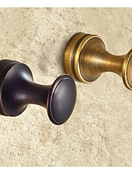 Robe Hook Bathroom Gadget / Antique Copper Brass /Country