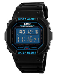 cheap -SKMEI® Men's Square LCD Digital Sport Watch Fashion Sporty Stopwatch Cool Watch Unique Watch