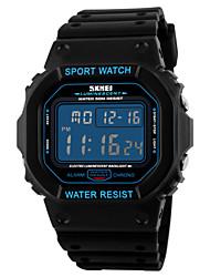 Недорогие -SKMEI Мужской Спортивные часы Наручные часы электронные часы LCD Календарь Секундомер Защита от влаги тревога Светящийся Хронометр