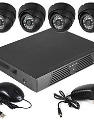 cheap -Szsinocam® 700TVL Indoor Day/Night Security Camera and 4CH HDMI 960H Network DVR System