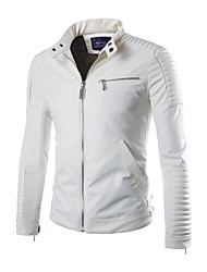 cheap -Men's Weekend Cool Jacket-Solid Colored