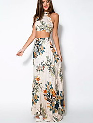 Women's Boho/Backless Elegant Dress (cotton)