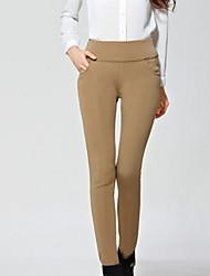 cheap -Women's Plus Size Skinny Jeans Pants - Solid