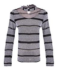 povoljno -Žene Vintage Osnovni Pullover Prugasti uzorak