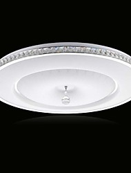 cheap -Ecolight™ Flush Mount Ambient Light - Crystal LED, Modern / Contemporary, 90-240V, Warm White White, Bulb Included