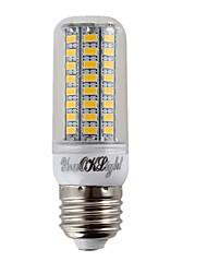 cheap -YouOKLight® 1PCS E14/E27 4.5W 300lm CRI>80 3000K/6000K 72*SMD5730 LED Light Corn Bulb (110-120V/220-240V)