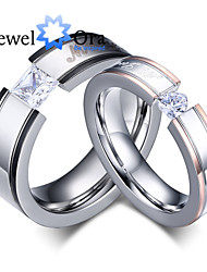 cheap -Women's Cubic Zirconia Band Ring - Fashion Gold / Silver / Screen Color Ring For Party