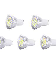 gu10 led spotlight mr16 16 smd 5630 650lm bianco caldo bianco freddo 3000k / 6500k decorativo ac 220-240v