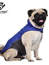 baratos -Gato Cachorro Casacos Colete Roupas para Cães Prova-de-Água Estampa Colorida Azul Escuro Vermelho Azul Ocasiões Especiais Para animais de