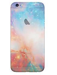 economico -Per iPhone 8 iPhone 8 Plus iPhone 6 iPhone 6 Plus Custodie cover Traslucido Custodia posteriore Custodia Paesaggi Morbido TPU per iPhone