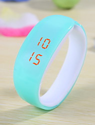 Women's Candy Color Plastic LED Digital Bracelet Watch Cool Watches Unique Watches Fashion Watch