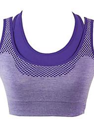 abordables -Mujer Top corto de running Listo para vestir Suave Materiales Ligeros Reductor del Sudor Compresión Chalecos Tank Tops/Camiseta Top para