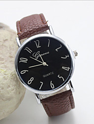cheap -Women's Fashion Personality Leather Quartz Belt Watch(Assorted Colors) Cool Watches Unique Watches