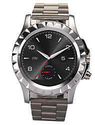 Stainless Steel Smart Watch T2 With Bluetooth 3.0 Waterproof Smartwatch Wearable Devices Bracelet Watch