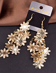 cheap -Women's Drop Earrings Statement Jewelry European Personalized Costume Jewelry Alloy Flower Jewelry For Wedding Party Special Occasion