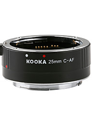 kooka kk-c25 entrada de 3,5 milímetros tubo de extensão com auto-foco explosão TTL para Canon EF&câmeras SLR EF-S