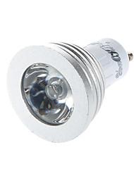 cheap -YouOKLight® 1PCS GU10/E14 3W 1-High Power LED Decoration Bulb Remote Lamps RGB Light 260lm  (AC110-120V/220-240V)