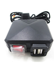 cheap -Black Motorcycle Car Dual USB Charger with Switch Mirror Mount  12v-24v Power Adapter Charging for ATV Boat Dirt Bike