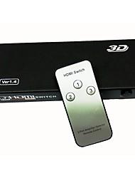 abordables -1.4 Interruptor de alta calidad 3 hdmi puerto puerto hdmi splitter hdmi switcher para vedio de 1080p HDTV