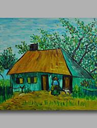 economico -Dipinta a mano AstrattoModern Un Pannello Tela Hang-Dipinto ad olio For Decorazioni per la casa