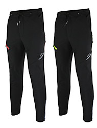cheap -Arsuxeo Cycling Pants Men's Bike Pants / Trousers Bottoms Fleece Bike Wear Waterproof Thermal / Warm Windproof Fleece Lining Reflective