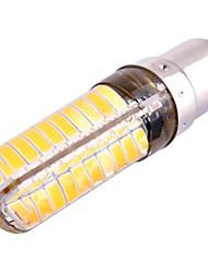 7W BA15D Luci LED Bi-pin T 80 leds SMD 5730 500-700lm Bianco caldo Luce fredda 2800-3200/6000-6500K Oscurabile Decorativo AC 110-130