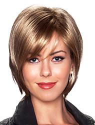 baratos -acalentar estilo bob remy virgem do cabelo humano mão atada topo capless perucas femininas retas curtas