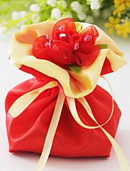 Kreativan Saten Naklonost Holder s Štras Cvijet Milost Torbe - 6