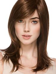 abordables -main attrayante-dessus lié humaine de la femme vierge remy belle coiffure cheveux capless perruque
