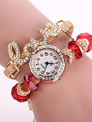 Xu™ Dámské Módní hodinky Křemenný Materiál Kapela Černá Bílá Modrá Červená Zelená Růžová žlutá Červená Zelená Modrá Růžová Světle modrá