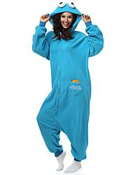 Kigurumi Pijamas Monstro Ocasiões Especiais Lã Polar Fibra Sintética Kigurumi Malha Collant / Pijama Macacão Cosplay Festival / Celebração