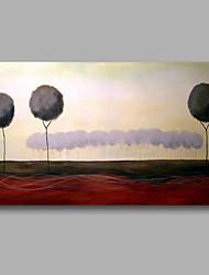 Ručně malované Krajina / Abstraktní krajinkaModerní Jeden panel Plátno Hang-malované olejomalba For Home dekorace
