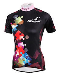 cheap -ILPALADINO Cycling Jersey Women's Short Sleeves Bike Jersey Top Bike Wear Quick Dry Ultraviolet Resistant Breathable Compression