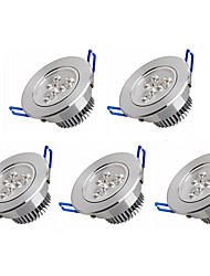 cheap -3W LED Recessed Lights 3 High Power LED 350 lm Warm White Cold White K AC 100-240 V