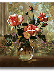 Print And Paint Rose Painting in Cheap Whosale Price