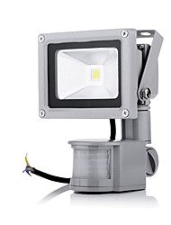 cheap -LED Floodlight 1 High Power LED 2800-6500 lm Warm White Cold White 6000 K Sensor AC 85-265 V