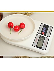 1 Set BaseKey  NEW 7-10kg 1g Digital Kitchen Food Diet Electronic Weight Balance Scale Random Style