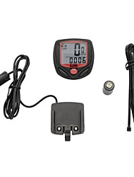 cheap -548B Bike Computer/Bicycle Computer Waterproof Tme - Lapsed Time Set Tire Circumference Set Last Value of Odometer Auto On/Off Scan Set