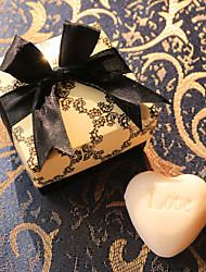 cheap -Heart Scented White Soap Wedding Favor
