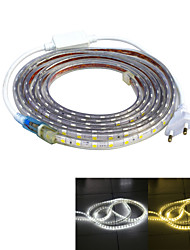 cheap -Jiawen Waterproof 52W 3200LM 240x5050 SMD LED Flexible Light Strip (4M-Length / 220V)