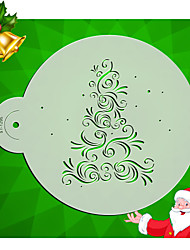 cheap -Flower Cake Side Stencil Designs Fondant Decorating Stencil  Plastic Wedding Cake Tools ST-1295