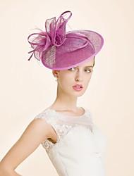 baratos -Lã Headbands 1 Casamento Ocasião Especial Capacete