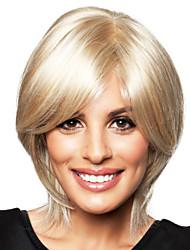 abordables -belle manière humaine main de cheveux remy vierge liée top capless court féminine perruques