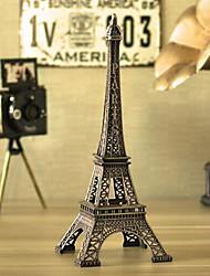 Creative  18cm Height Mini Rhinestones Iron Metal Paris Eiffel Tower
