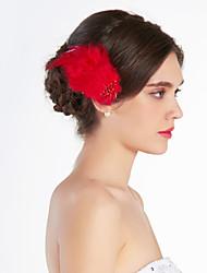 economico -copricapo di piume piuma copricapo elegante stile femminile
