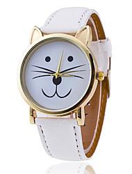 cheap -Women's Quartz Wrist Watch Hot Sale Alloy Band Charm Fashion Black White Green