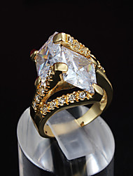 cheap -Fashion New Luxury Ring 18K Gold CZ stone Ring For Woman& Lady